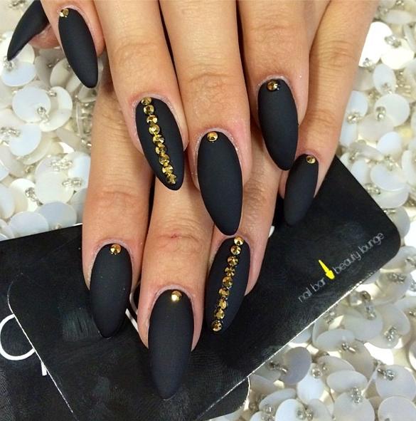 ☼➽✌₳KIℳ€♥♢♧♤ | Nails | Pinterest | Designs., Black nail art ...