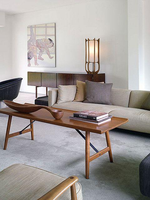 Mid Century Modern Interior Salon Pinterest 50er Jahre-Möbel - designer moebel einrichtung modern