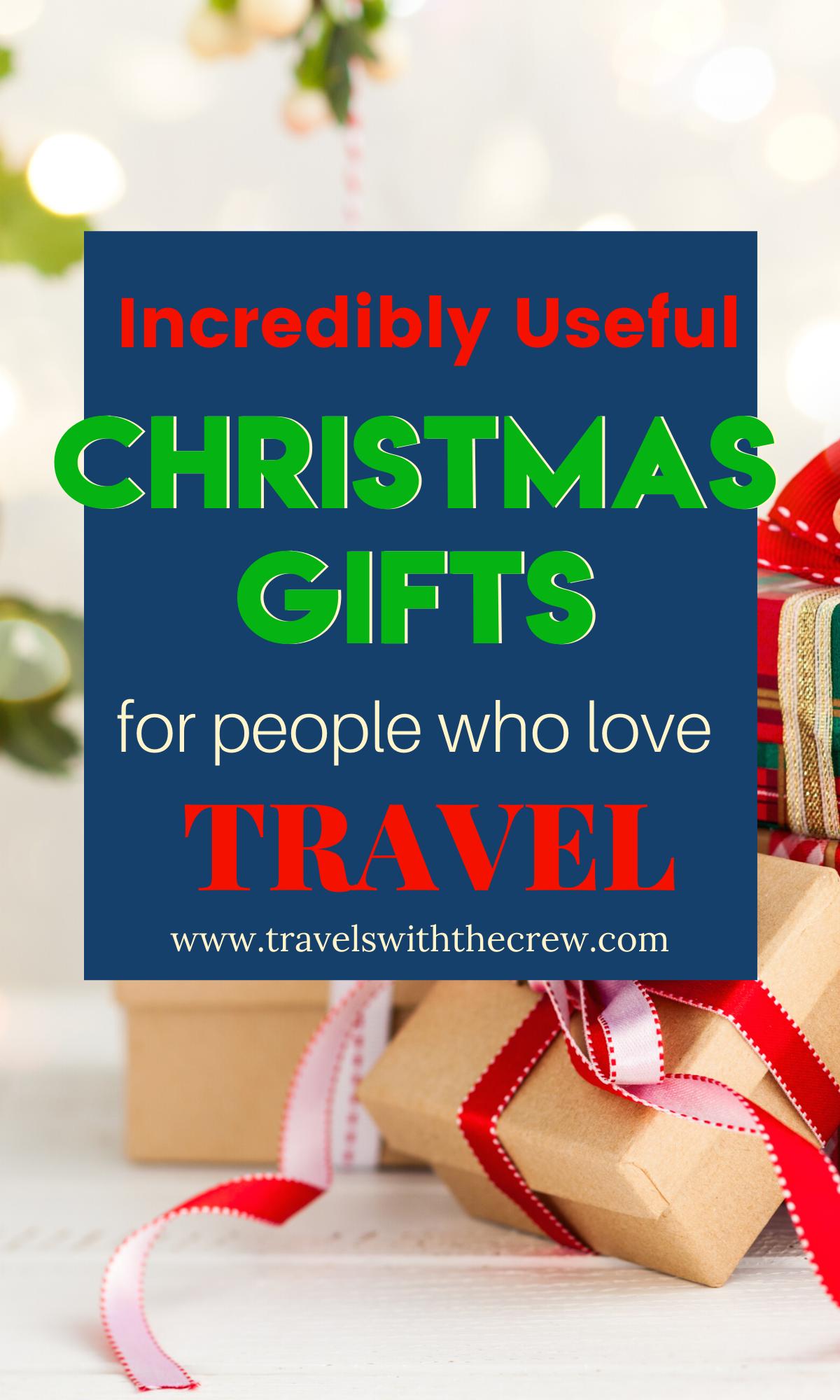 Christmas gifts for travelers, #travelgifts #Christmastravel #giftoftravel #travelgear