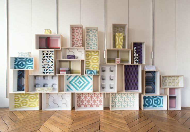 Les papiers peints à motifs - coach deco Lille Caisse, Papier - Comment Peindre Du Papier Peint