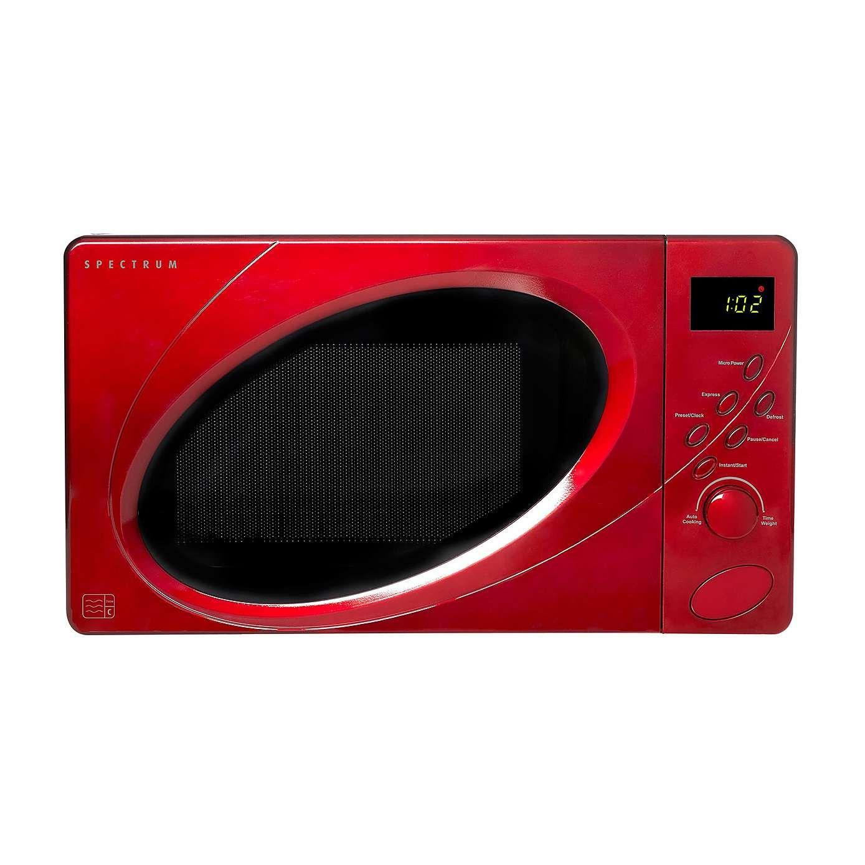 pectrum 700W Red 20L Digital Microwave Digital microwave