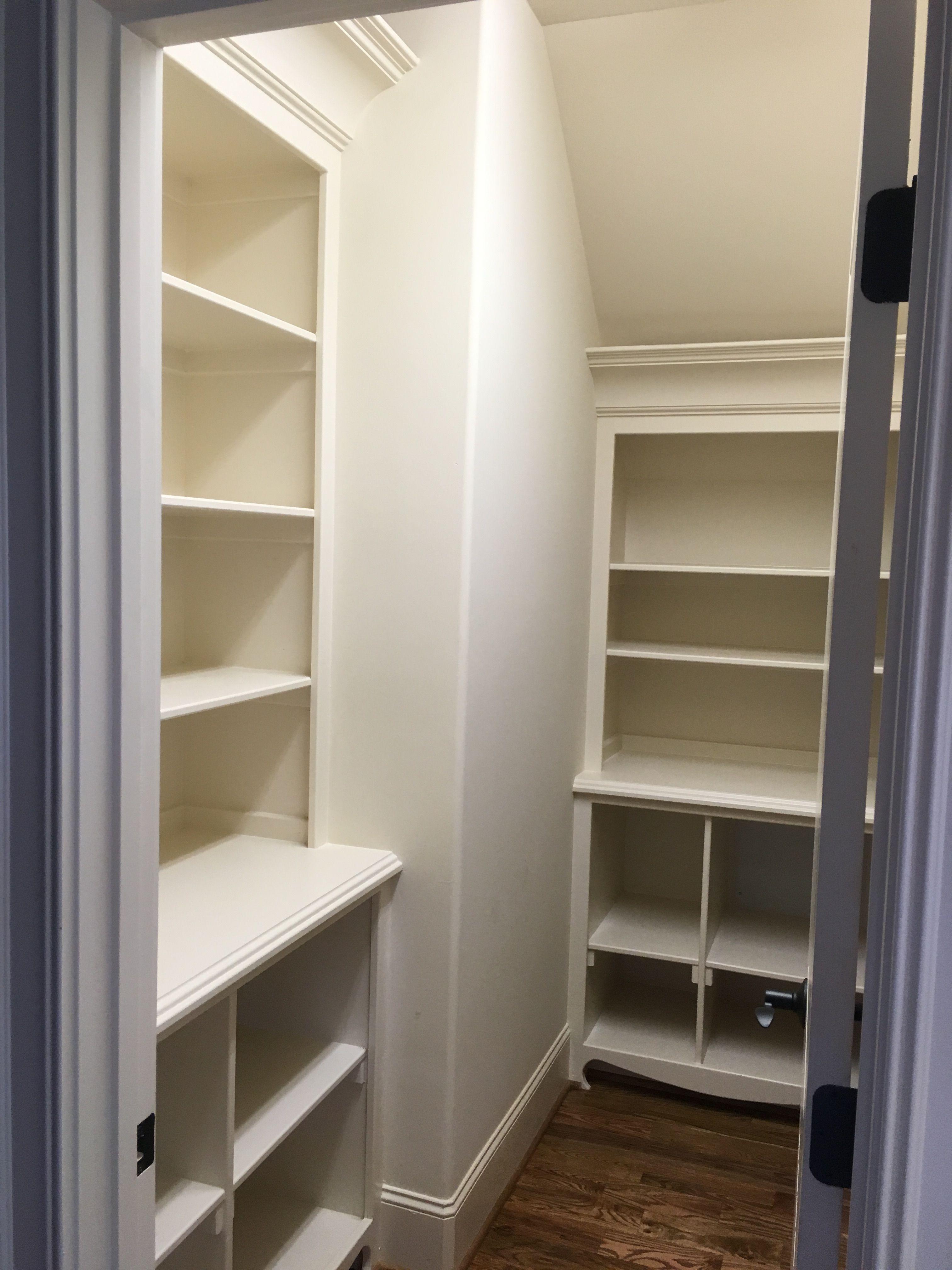 Pantry shelves diykitchen pinterest pantry shelves and