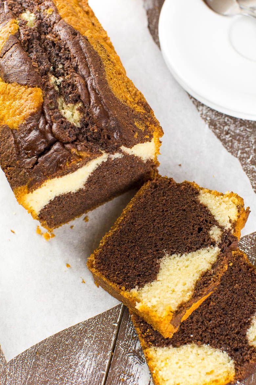 Back To Basics Perfekter Veganer Marmorkuchen Rezept Vegan Marmorkuchen Veganer Kuchen Marmorkuchen