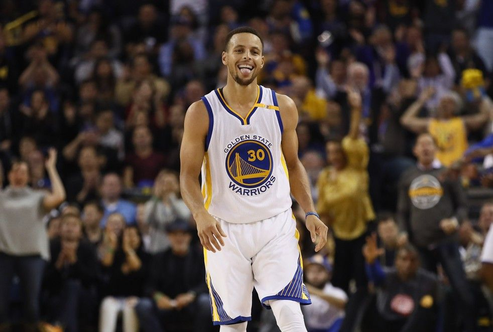 Stephen Curry fires his way into the NBA record books with 13 three-pointers