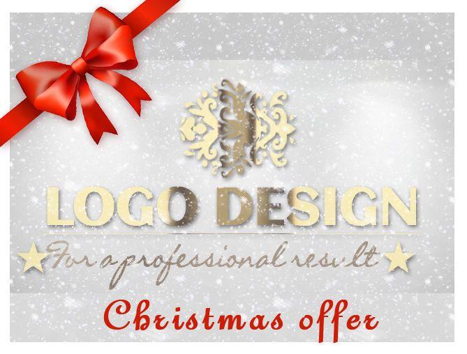 CHRISTMAS OFFER - LOGO DESIGN - PROFESSIONAL - DECEMBER DESCOUNT
