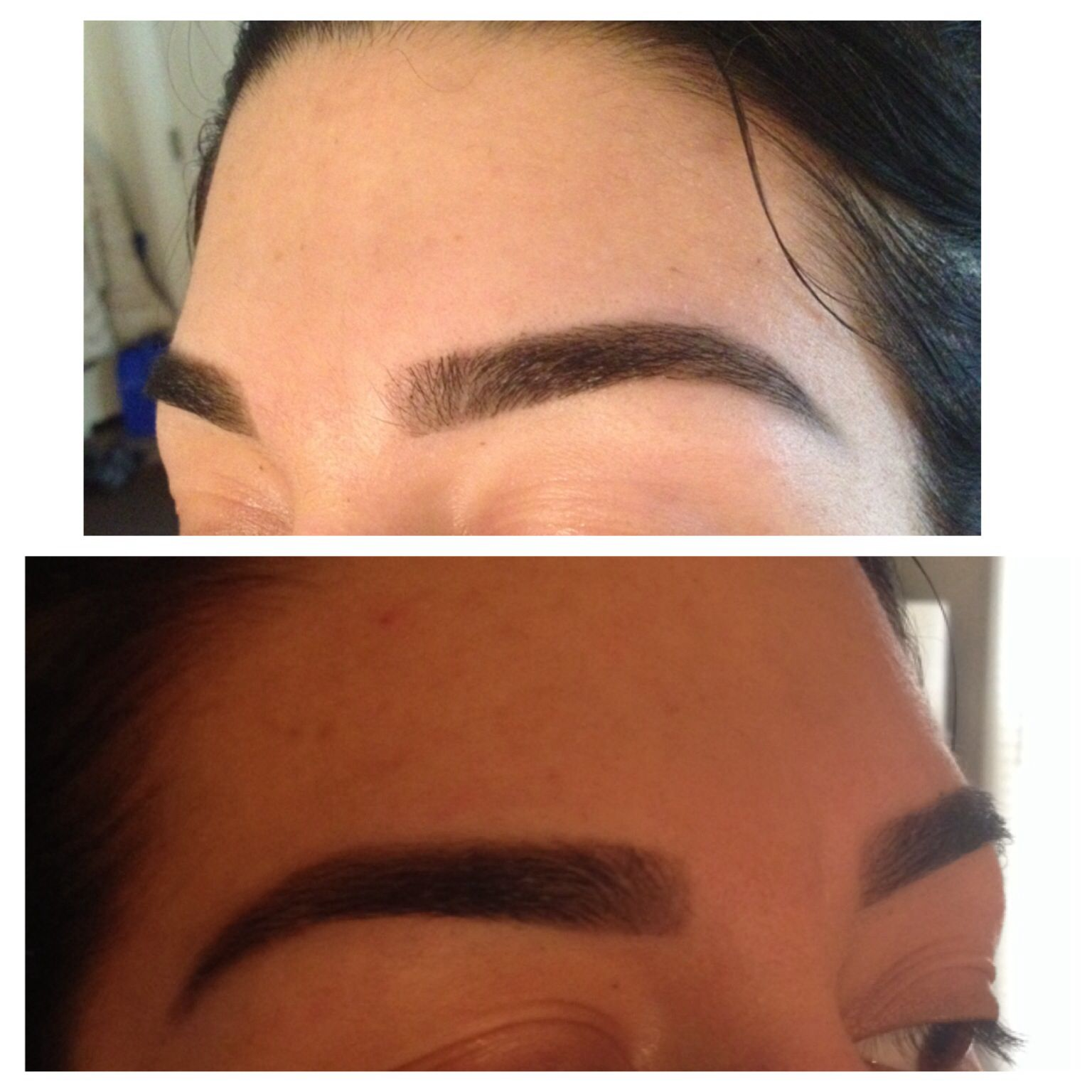 Eyebrow Waxing And Tinting Tinting Makes A Huge Difference On