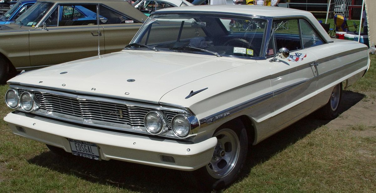 60s Galaxie 500 1964 Ford Galaxie 500 Xl With Images