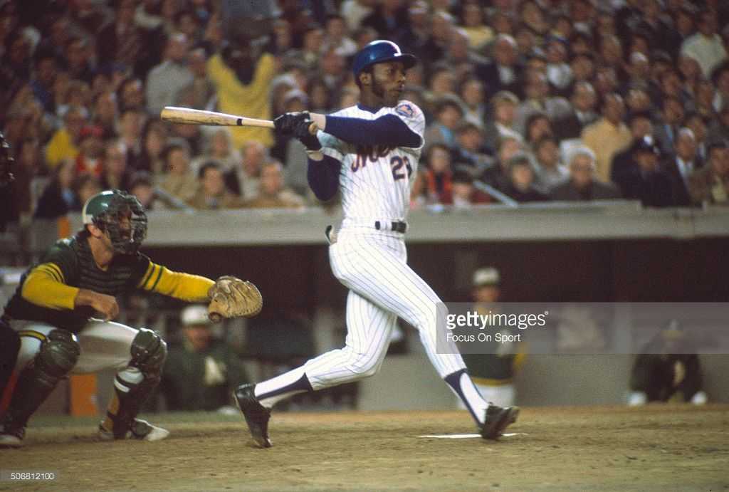 1973 NY Mets  | John Milner #28 of the New York Mets bats against the Oakland…