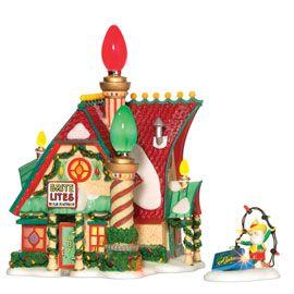 Dept 56 Brite Lites Adapter Good Shape w Box Christmas Snow Villages
