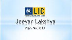LIC of India's Jeevan Lakshya Plan No. 833 presentation - YouTube
