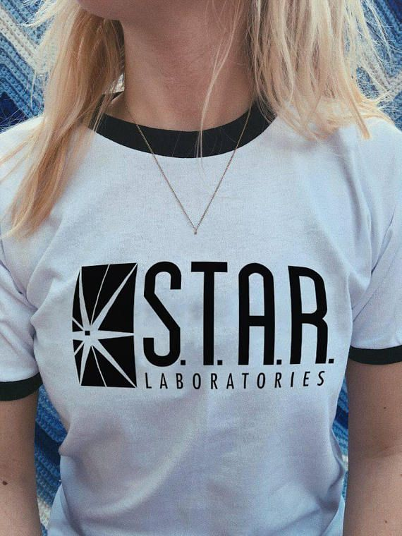 Labs Unisex  Top Quality Gift STAR Laboratories T Shirt Top The Flash S.T.A.R