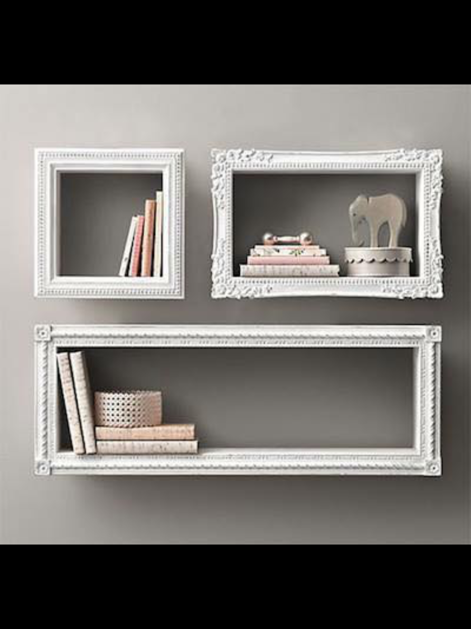 Discover Ideas About Picture Frames On Shelves