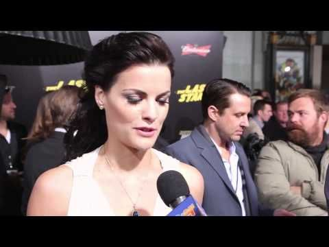 Jaimie Alexander 'The Last Stand' Premiere Interview - http://hagsharlotsheroines.com/?p=8187