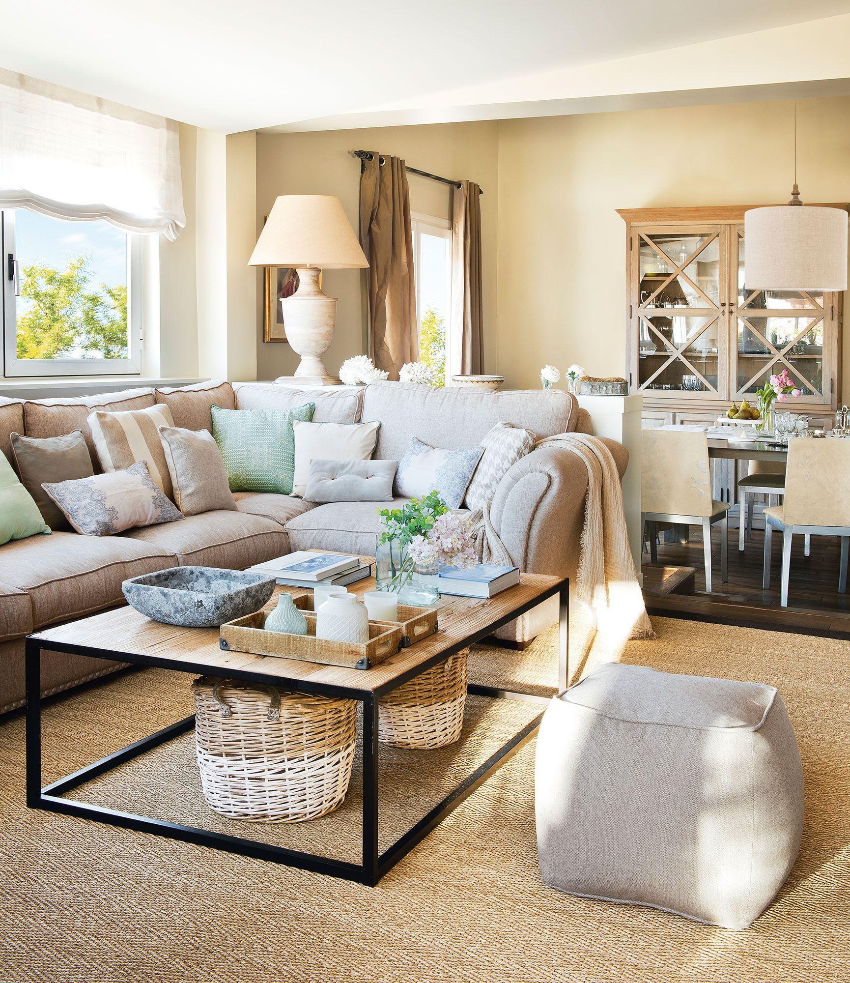 20 salones ideales: ideas de decoradora para tener un salón