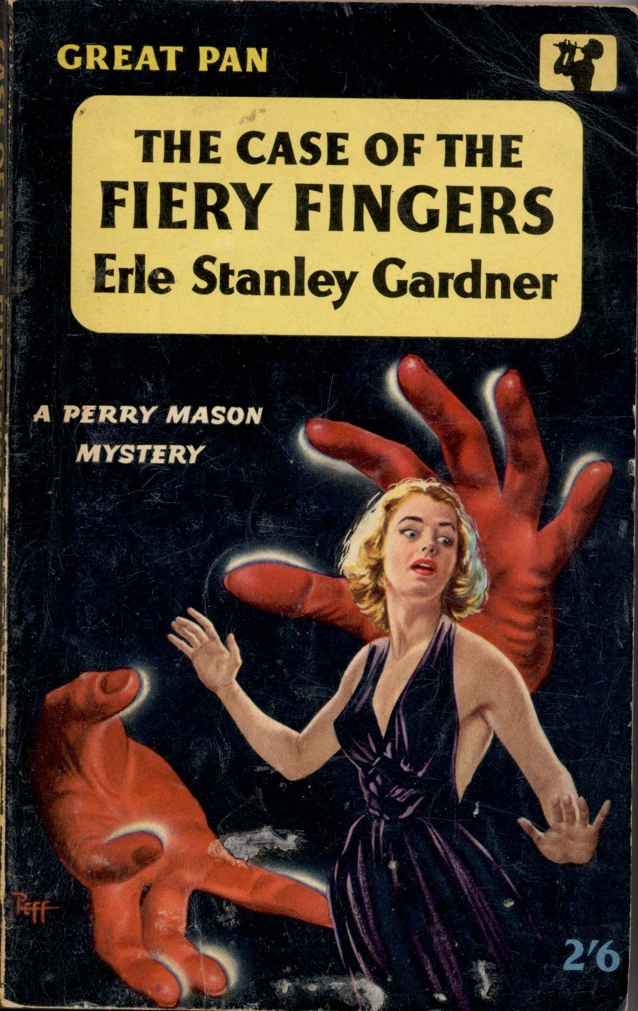 The Case of the Fiery Fingers (Perry Mason Series Book 37)