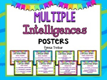 Multiple Intelligence Posters | Multiple intelligences ...