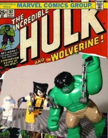 Lego moc Comic book cover - Hulk #181 | My Lego Superheroes ...