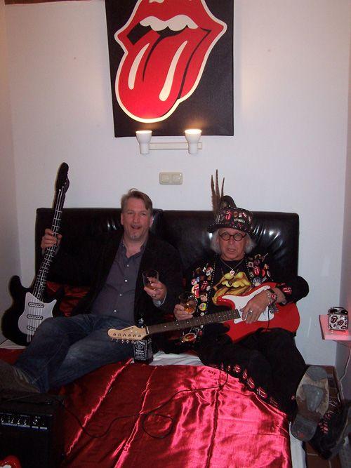 Einweihung vom Rolling Stones Zimmer