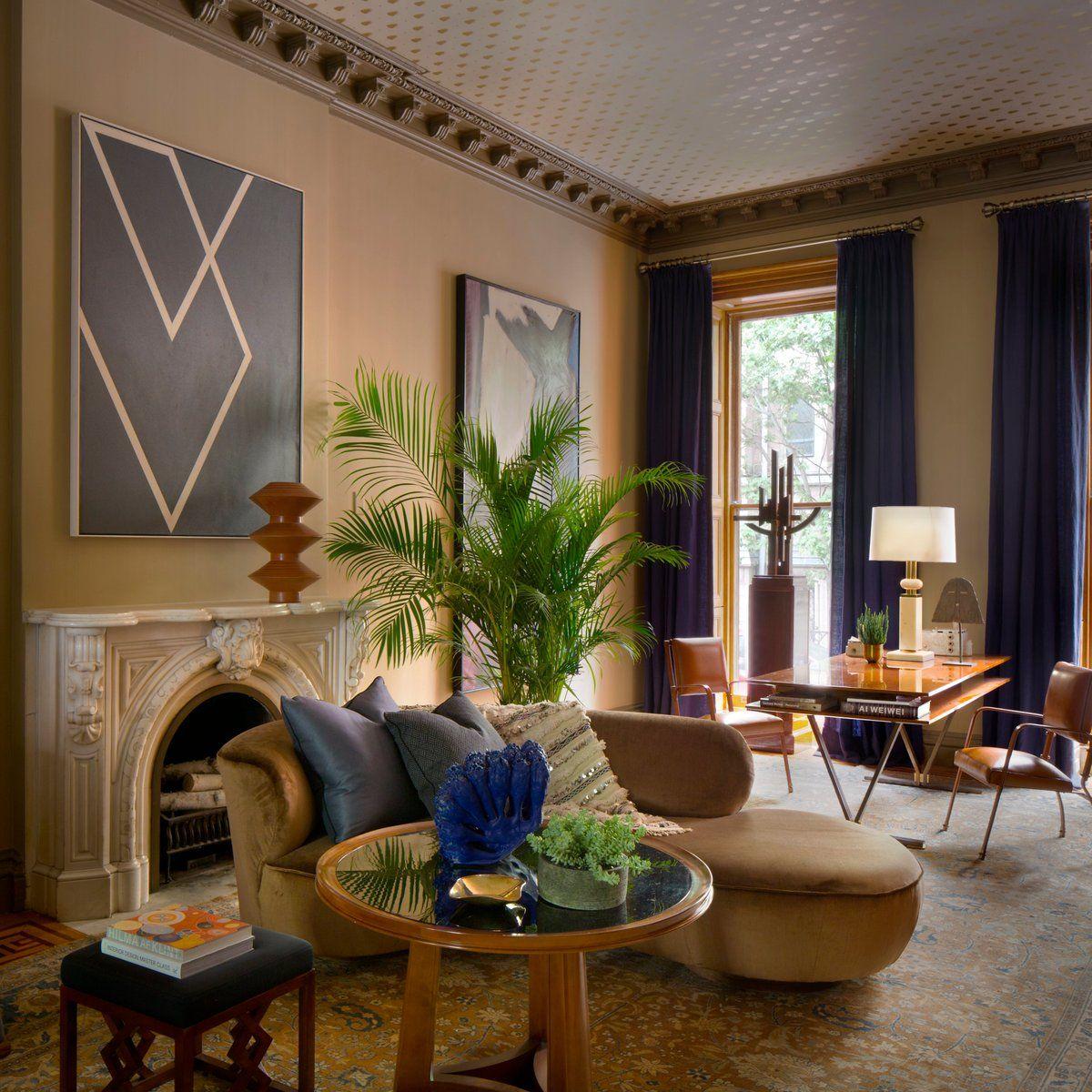 Living Room in Brooklyn, NY by Glenn Gissler Design ...