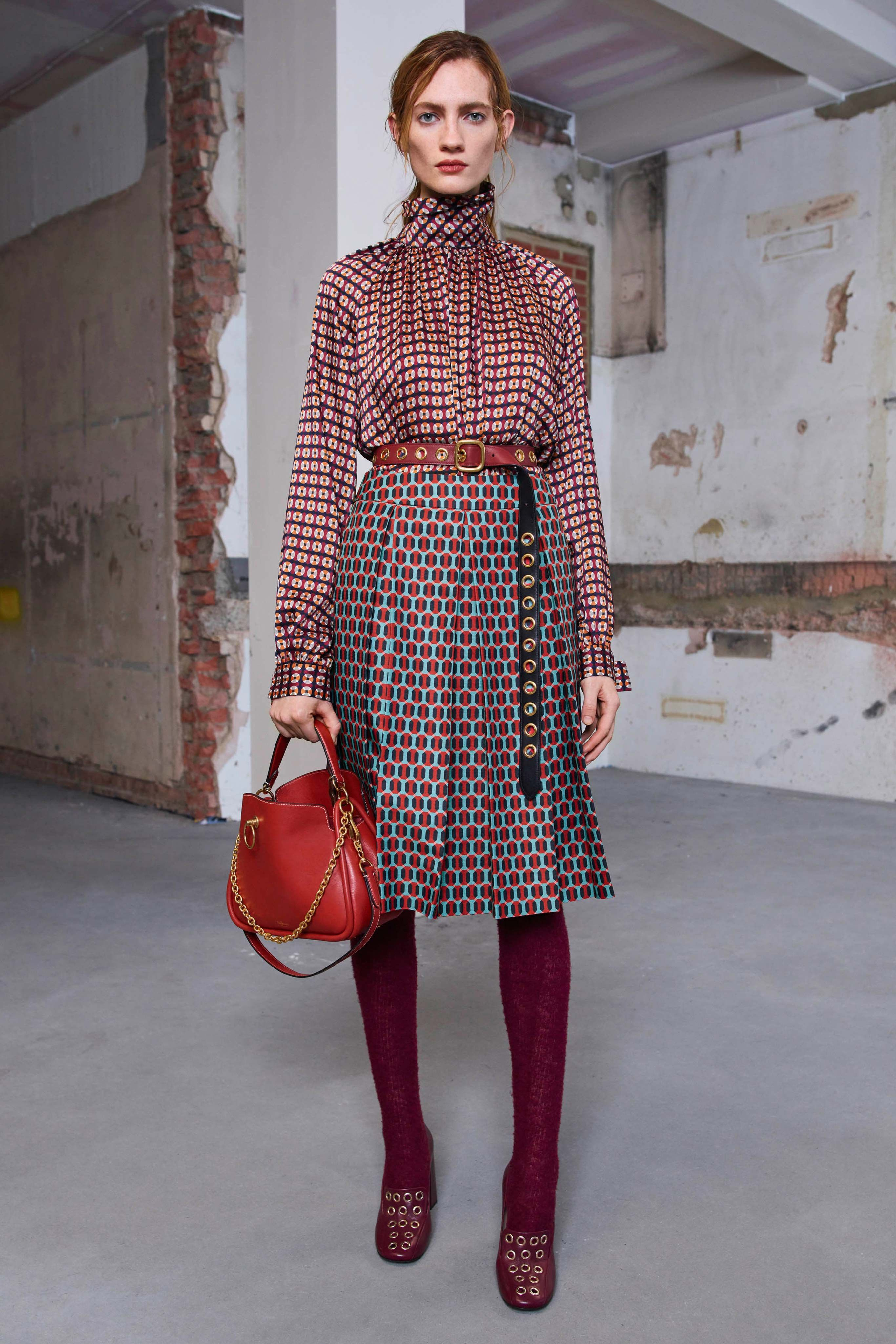 Mulberry Fall 2019 Ready-to-Wear Fashion Show #2019fallfashiontrends
