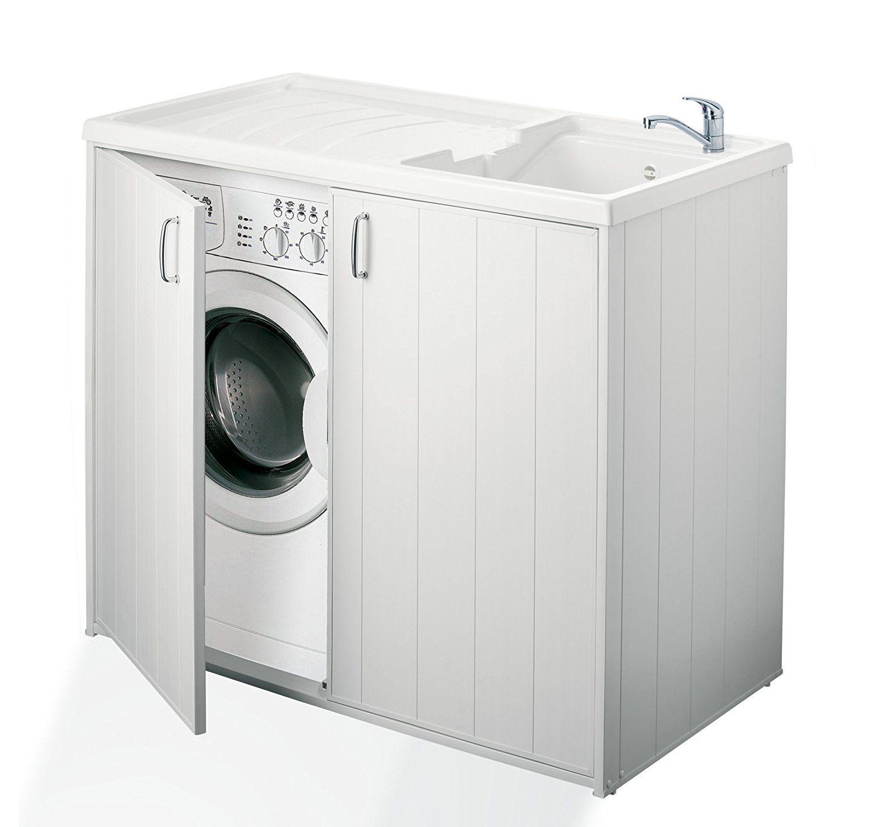Mobile Proteggi Lavatrice Da Esterno negrari 6008spplk mobile coprilavatrice e lavatoio