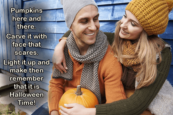 Pumpkin Halloween Love Quotes For Couples