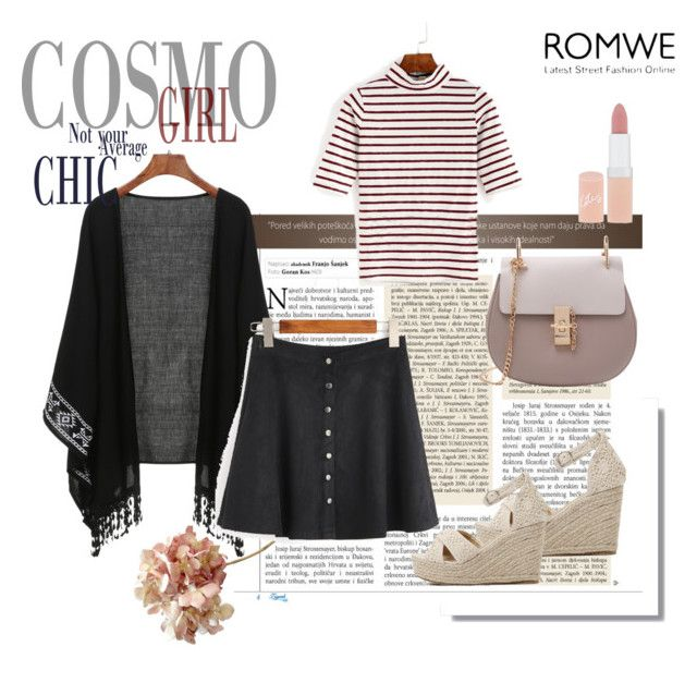 """""""ROMWE"""" by belux1 ❤ liked on Polyvore featuring Rimmel"""