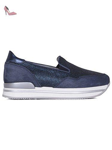Hogan Femme Hxw2220t671g4d0x05 Bleu Cuir Chaussures De Skate - Chaussures hogan (*Partner-Link)