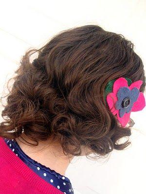 my 1940s hair style