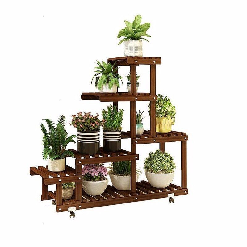 Flores Saksi Standi Estanteria Para Plantas Ladder Living Room Outdoor Decoration Decoration Estanteria Flores L Plant Shelves Flower Stands Plant Stand