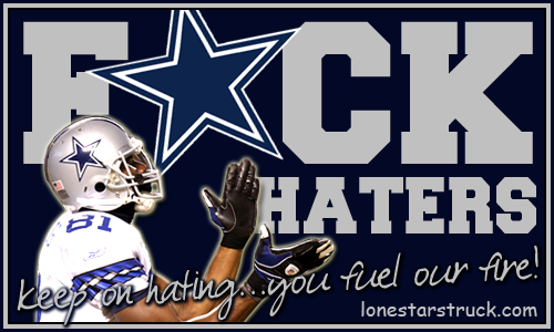 Fuck all cowboys haters