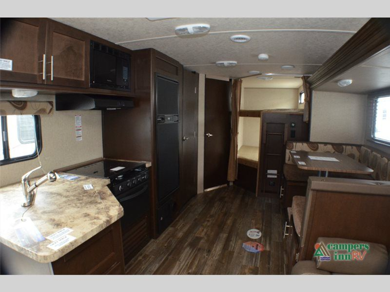 New 2016 Forest River Rv Cherokee Grey Wolf 26dbh Travel Trailer