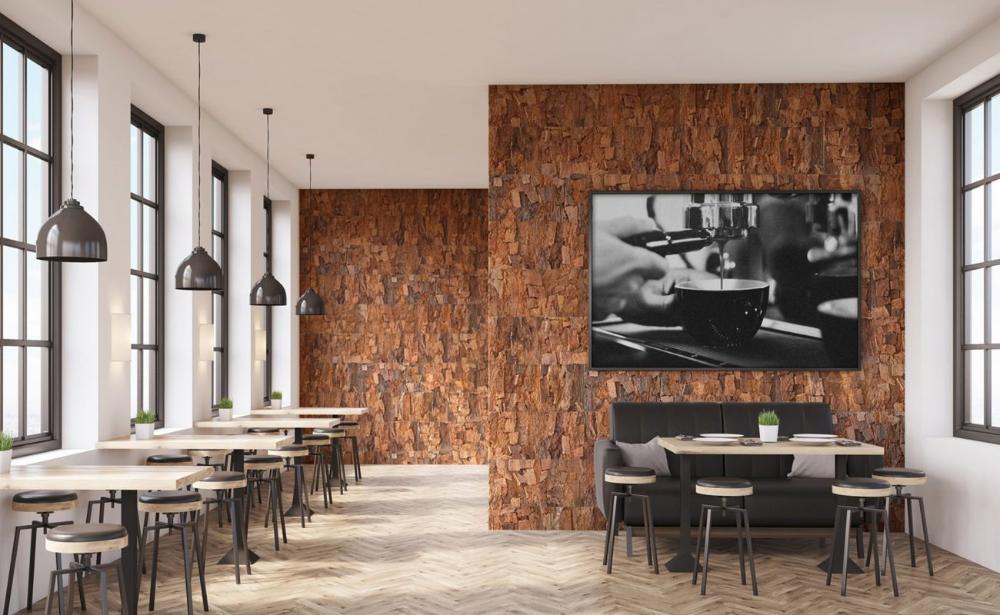 Bark Wall Tiles Cork Wall Panels Cork Wall Tiles In 2020