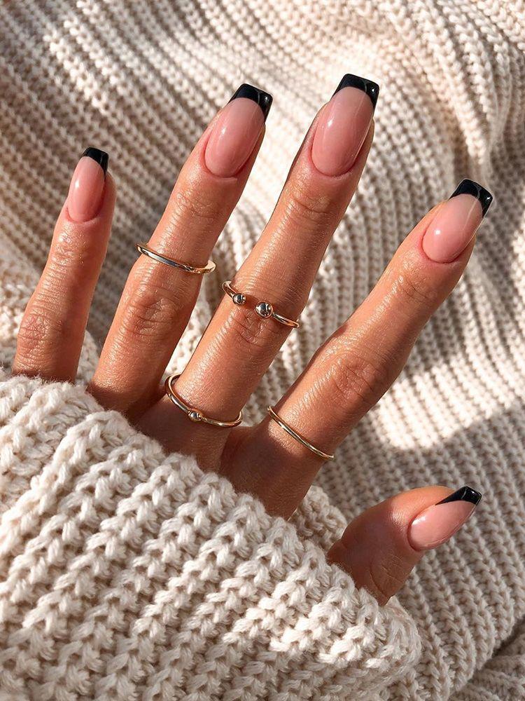 French Tip Nail Designs - SoSo Nail Art
