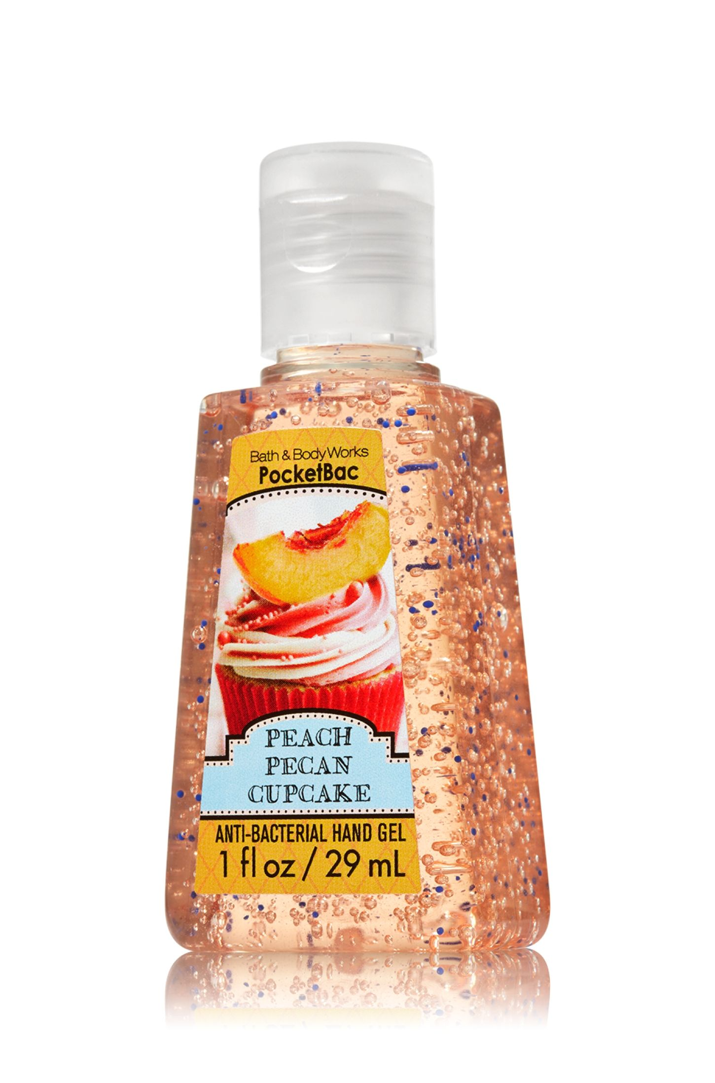 Peach Pecan Cupcake Pocketbac Sanitizing Hand Gel Soap Sanitizer
