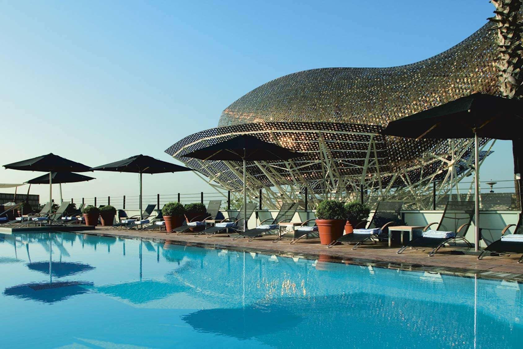 Varldens 15 Coolaste Takhang Hotel Arts Barcelona Hotel Art Hotels And Resorts