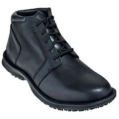 Timberland Pro Shoes: Mens Black Five