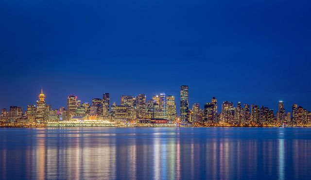 Vancouver Skyline   Places I want to visit