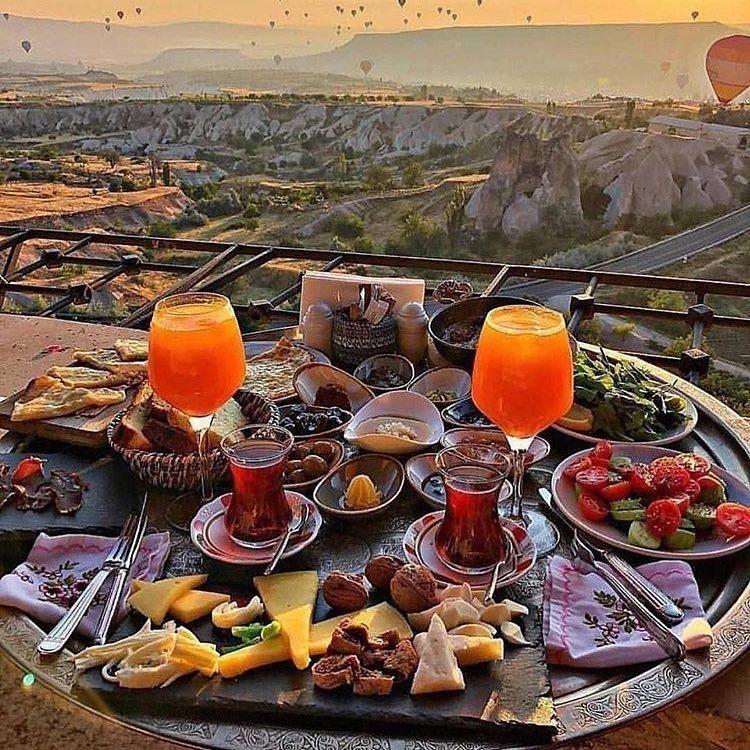 #goreme Good Morning.. Enjoy ur Breakfast with this amazing view? #cappadocia #turkey… – accessory-impulse