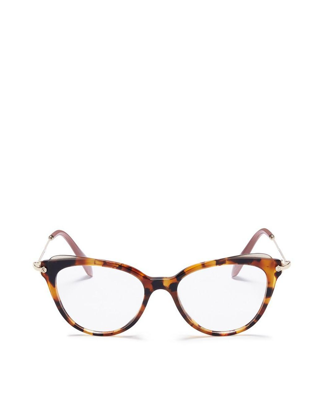 40f776902c0f Women s Brown Tortoiseshell Acetate Cat Eye Optical Glasses ...