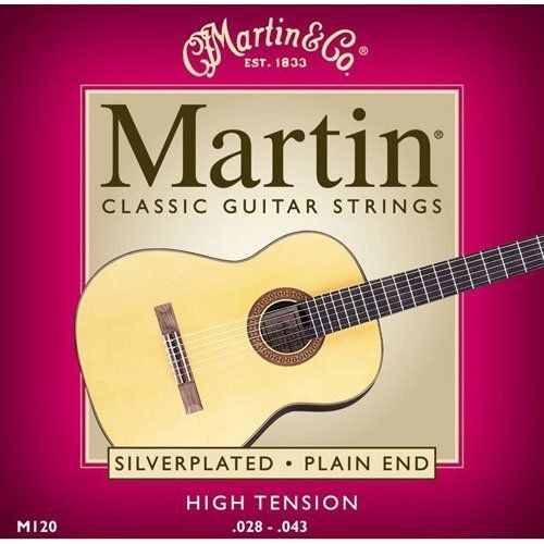 Martin M120 Silverplated Classical Guitar Strings High Tension By Martin 4 49 Martin M120 Silverplated Classical Aco Guitar Strings Guitar Classical Guitar
