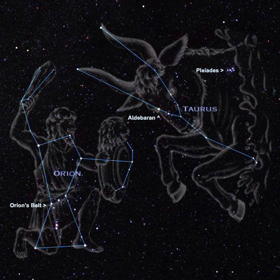 Orion + Taurus constellations #zodiac   TAUREAN SOUL ...