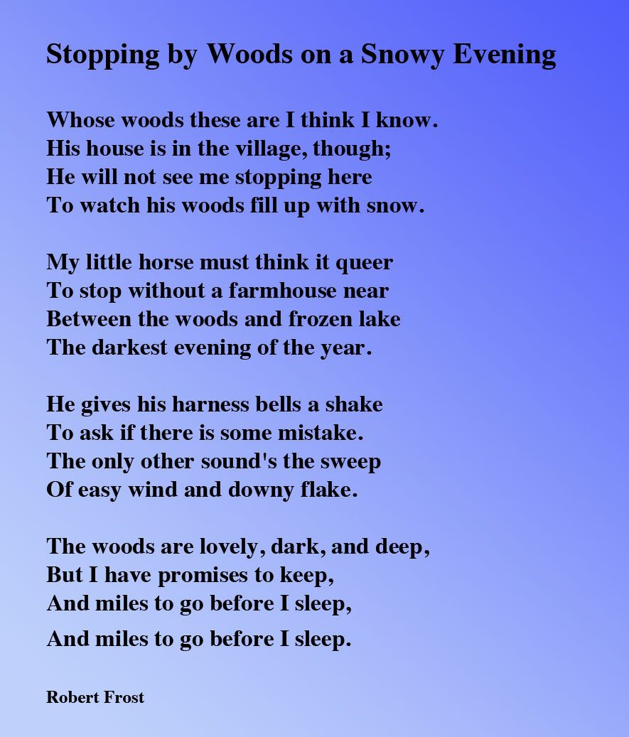 Stopping By Wood On A Snowy Evening Robert Frost Word Poems The Sun Rising Analysi John Donne