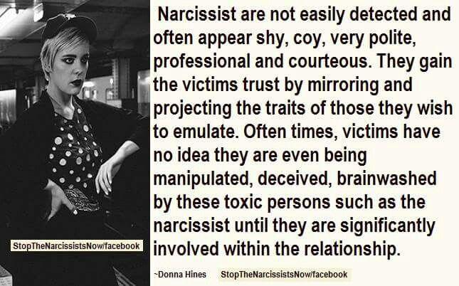 Detect Narcissist