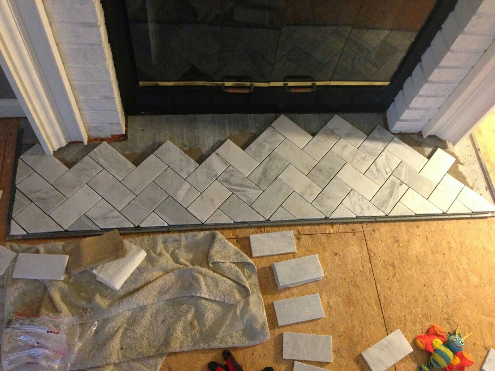 tips on tiling a fireplace surround fireplaces pinterest