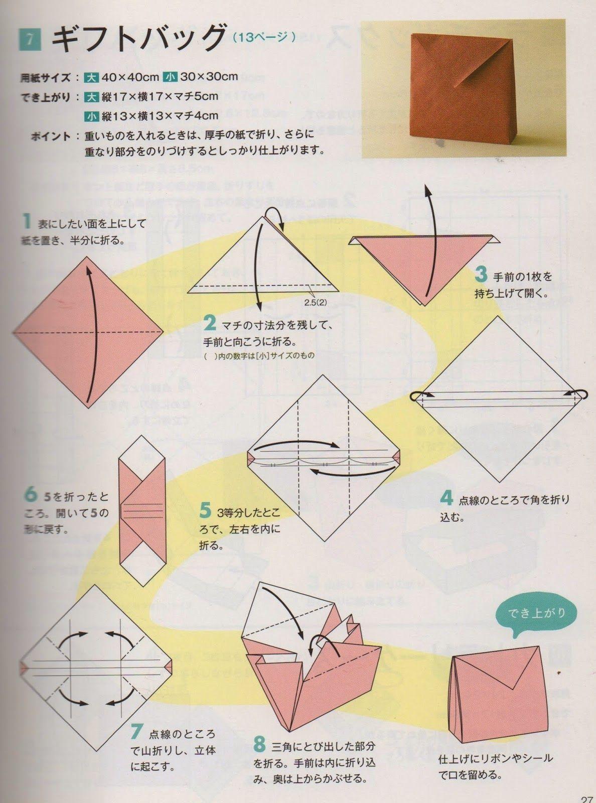 Origami Purse Diagram Electrical Work Wiring Diagram