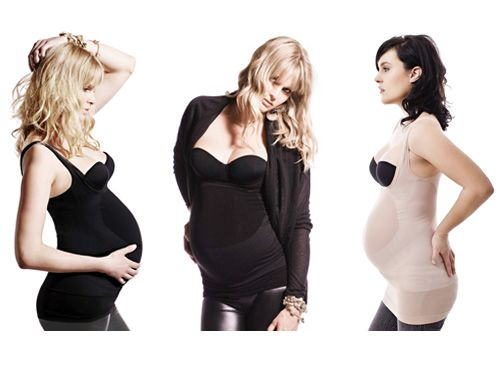 This unique maternity body styler will smooth out your shape, support your bump and correct your posture – all while giving you quite the sexy sillhouette! I bet I'll need this one day!