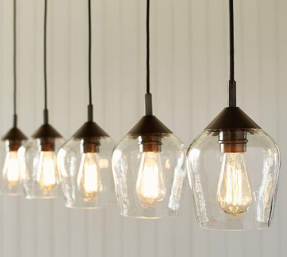 Donovan Gl 5 Light Pendant At Pottery Barn Ideas For