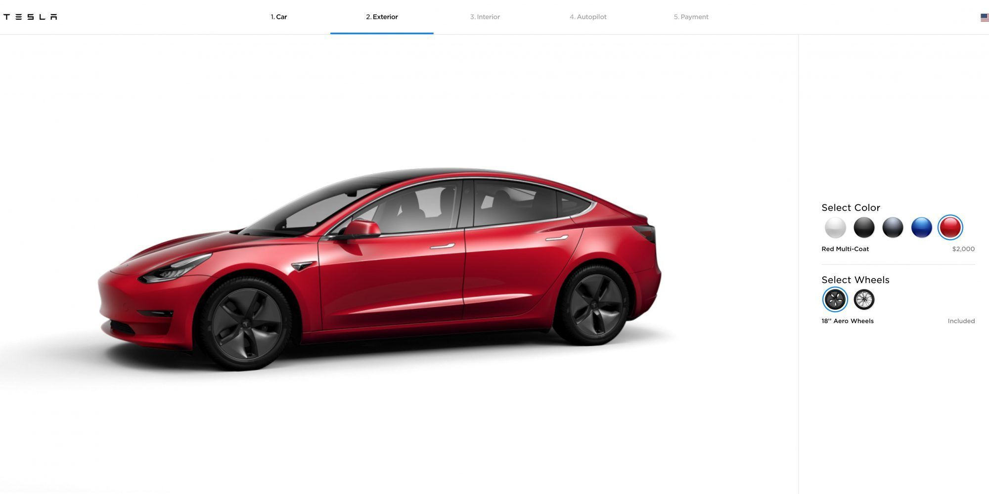 Tesla Reduces Price Of Model 3 Paint By 500 Across Lineup Tesla Tesla Model Technology