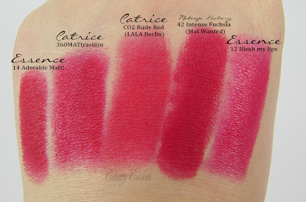 Dupe or not? MakeUP Factory Intense Fuchsia (Mat Wanted) | Beauty <3